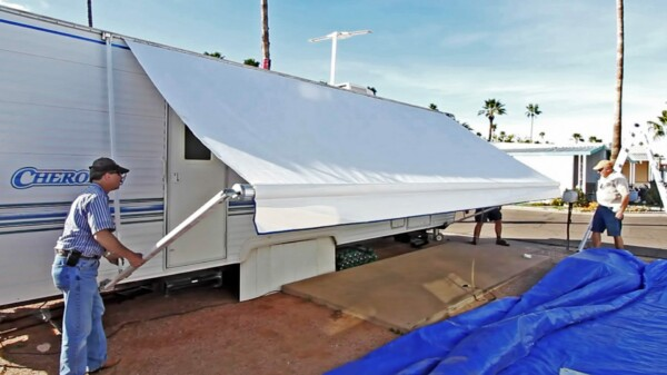 How to Get Stains Out of RV Awnings