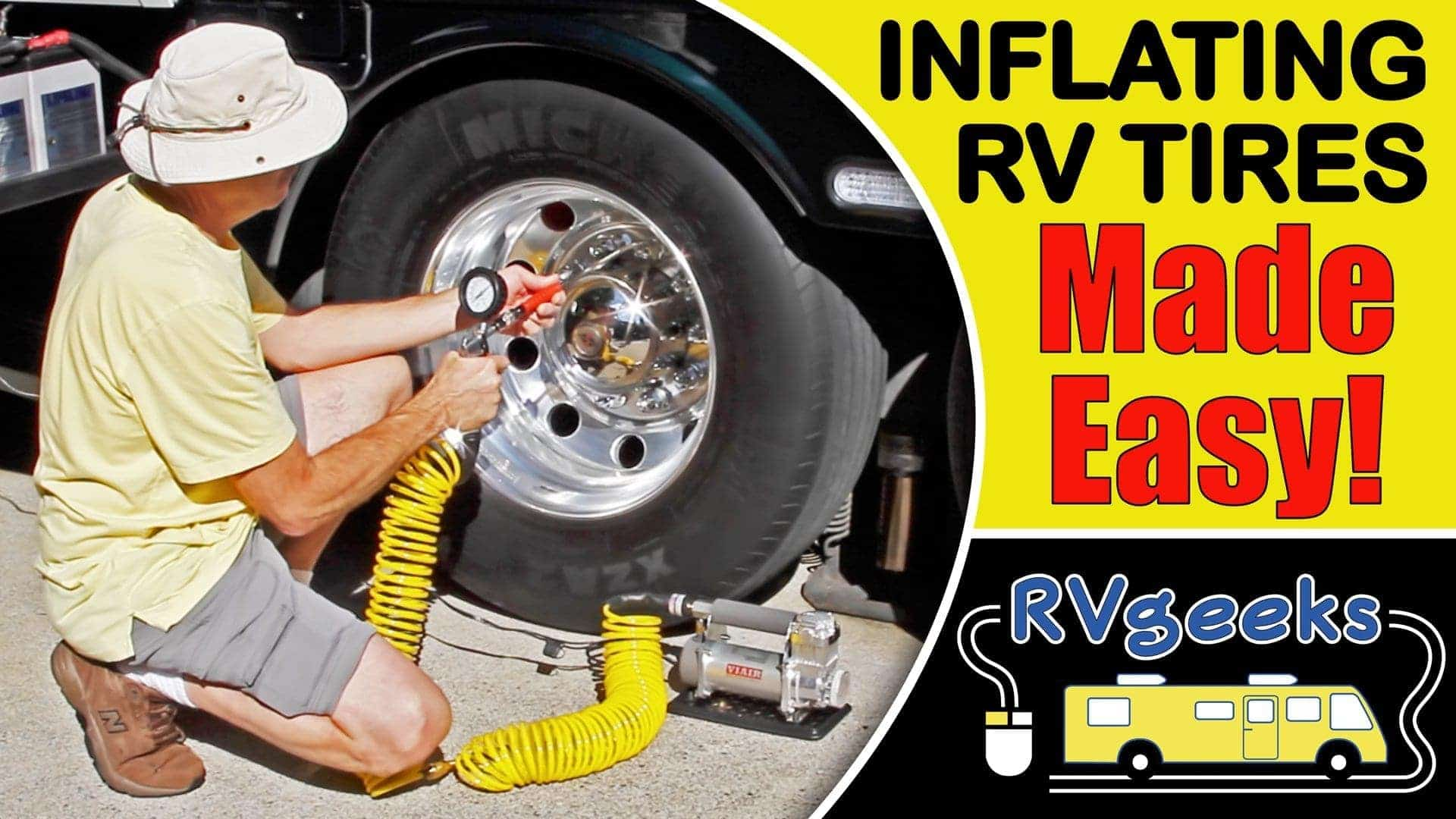 How To Inflate RV Tires The Easy Way (HINT: a Viair 400P-RV is involved! ?)