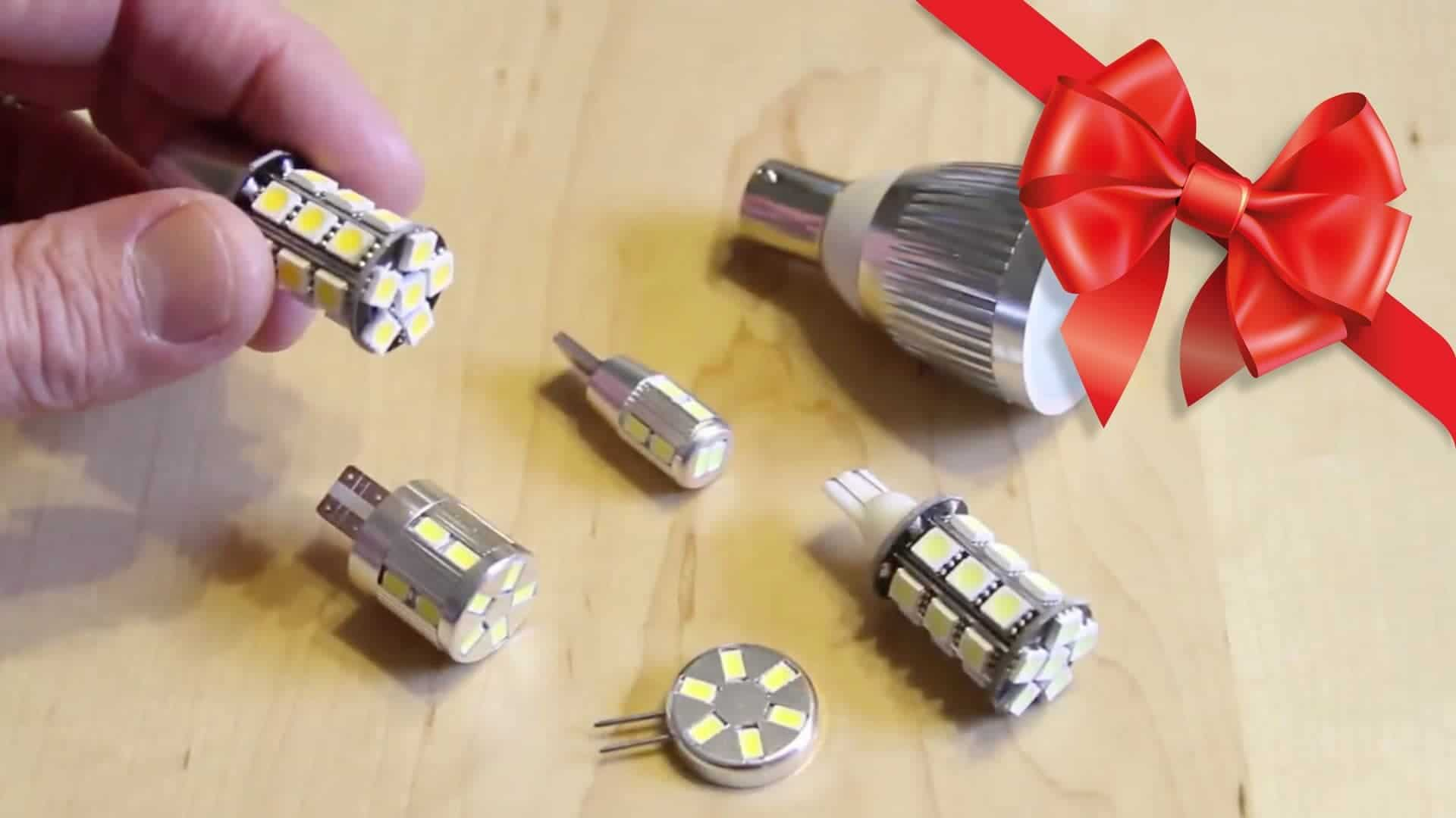 Give the Gift of (LED) Light! Plus, We Have an Air Compressor Winner!