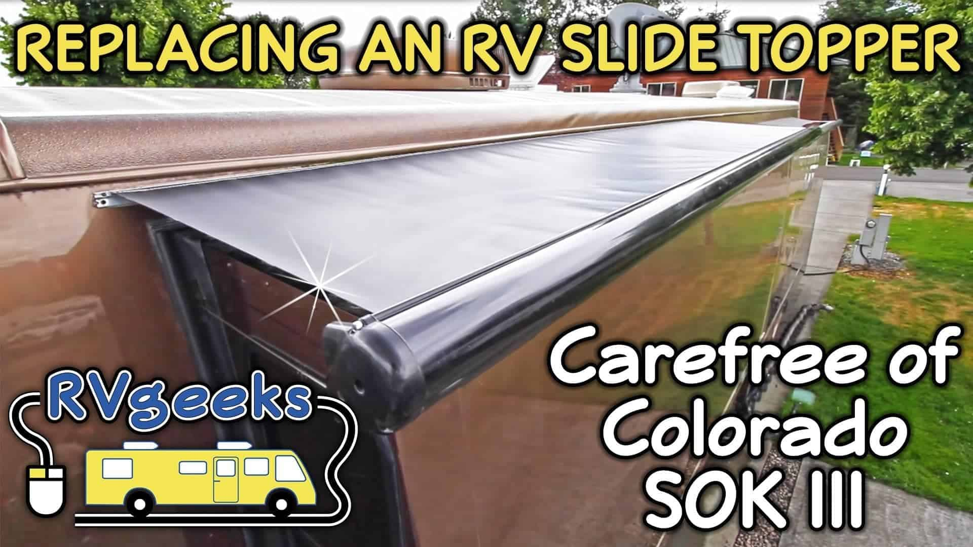How to Replace Carefree of Colorado SOKIII Fabric