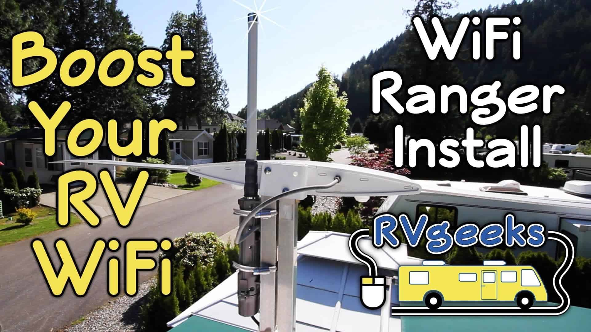 Boost Your RV WiFi Signal – Installing a WiFiRanger Elite Pack