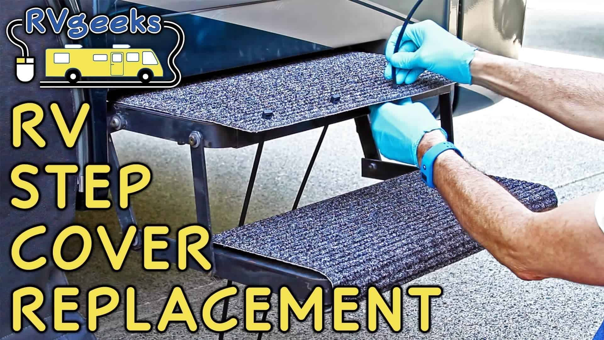 Replacing RV Step Covers & Tough Top Awnings Giveaway Winner Announced!