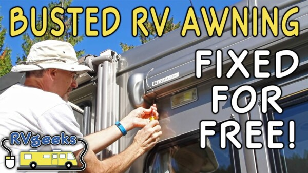 $1,000 Awning Fail?! Here's How We Fixed Ours For FREE!