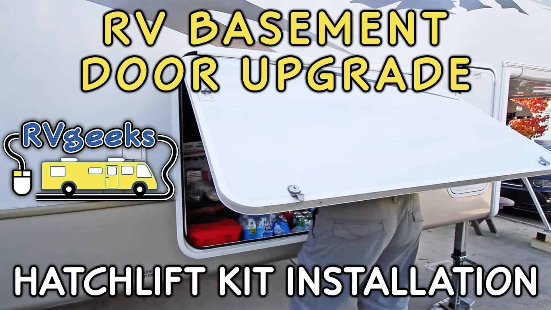 Hatchlift Rv Basement Door Lift Kit Installation