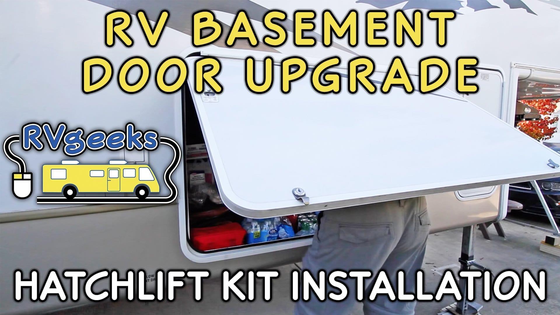 Hatchlift RV Basement Door Lift Kit Installation