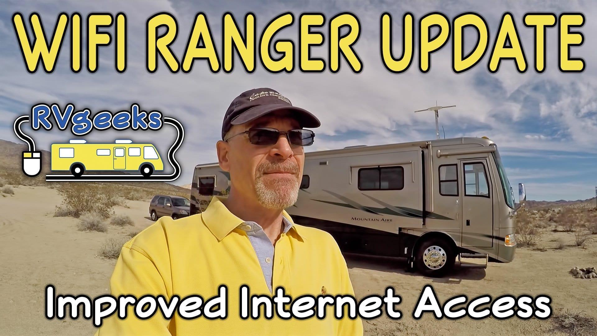 WiFiRanger Update: Improved Internet Access