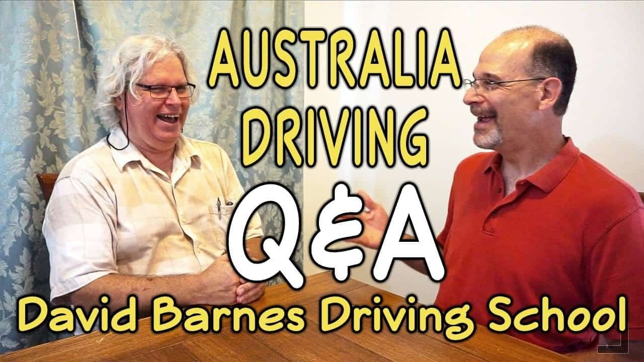 Australia Driving Q&A – David Barnes Driving School
