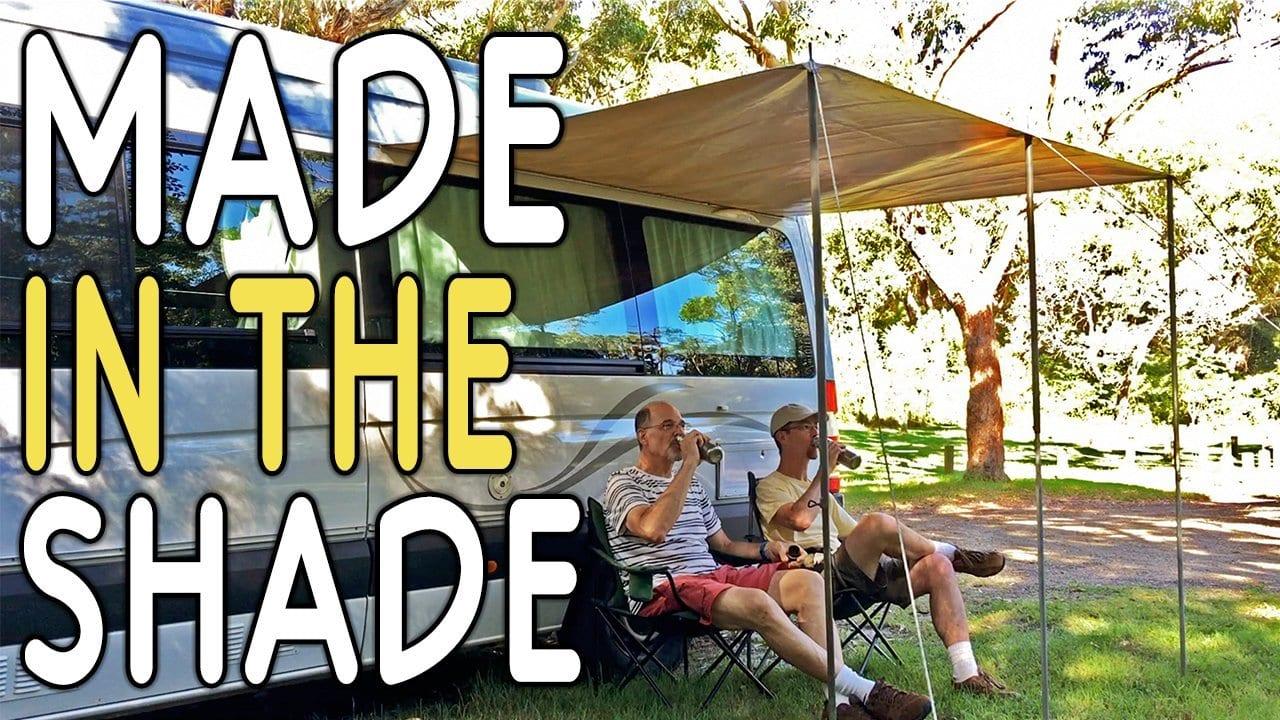 Australia Campervan Awning Set-up Time-Lapse