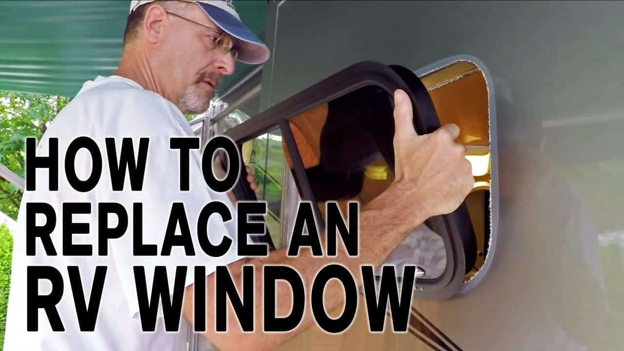 Replace a Fogged RV Window & How It's Made!