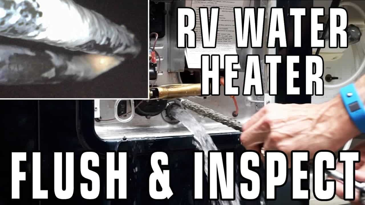 RV Water Heater Flush and Inspection (Suburban & Atwood)