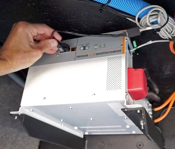 The Xantrex Network Adapter Cable made the changeover a snap!