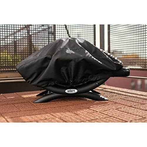Weber Grill Cover 7110 Black Fits Q1000 Series