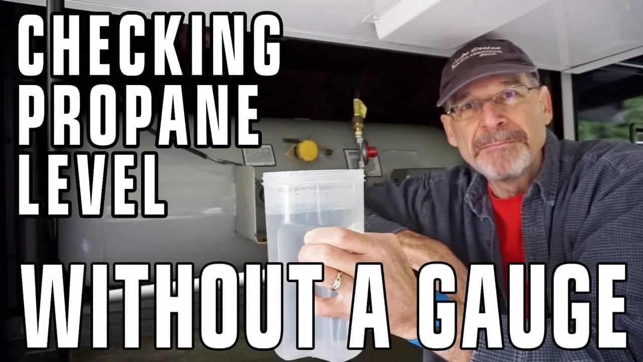 How To Check Your Propane Tank Level Without A Gauge
