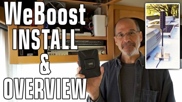 Boosting Cellular Signal — Install The WeBoost Drive 4G-X Cellular Booster & 4G-OTR Antenna
