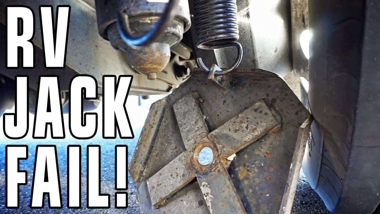 Hydraulic RV Jack Fail!! Four Lessons Learned… The Hard Way.