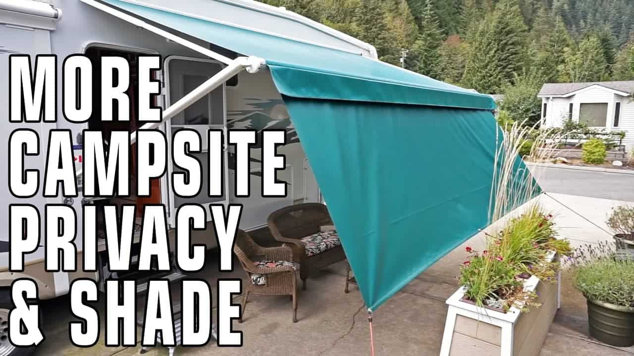 Improve Campsite Privacy & Shade With Privacy Panels
