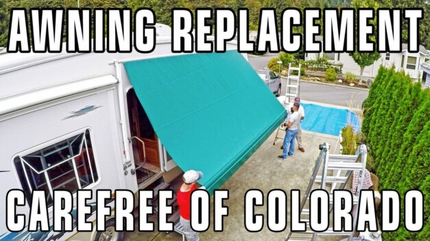 RV Patio Awning Fabric Replacement – Carefree of Colorado Manual Pull-Down