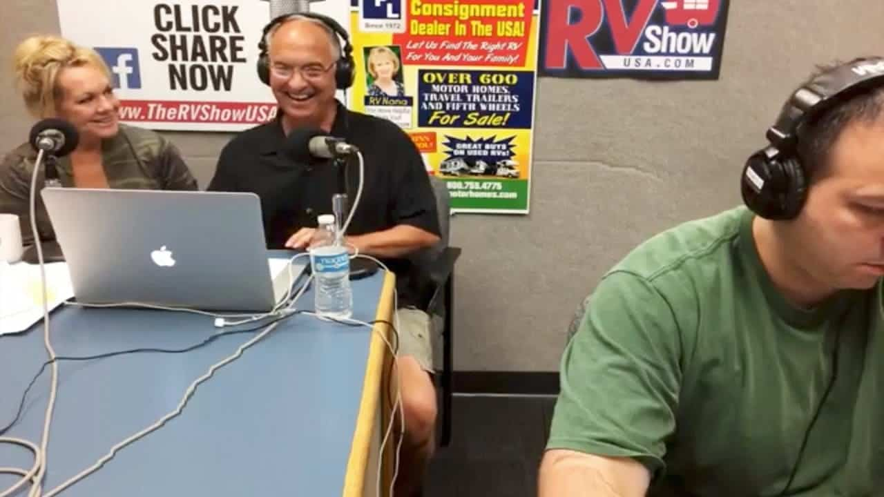 The RVgeeks Live Appearance On The RV Show USA