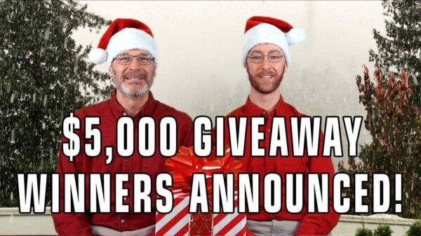 And the 12 Winners in Our $5,000+ Giveaway Are…