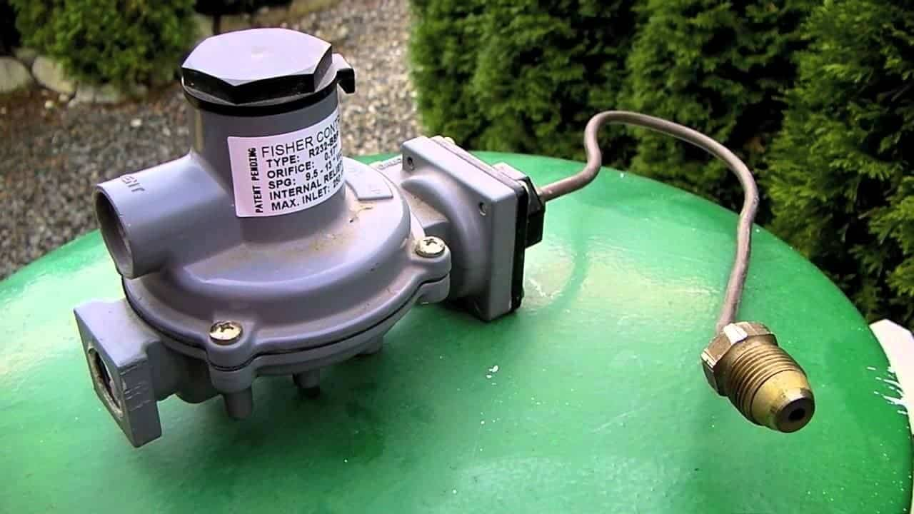 Connecting an RV to External Propane