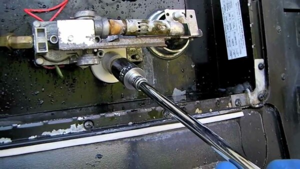 Flushing an Atwood RV Water Heater