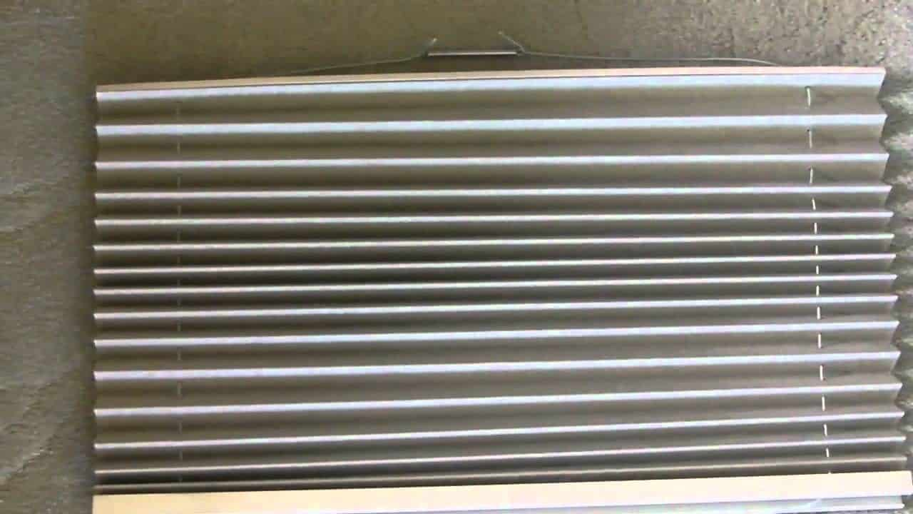 How To Re-String a Pleated RV Window Shade