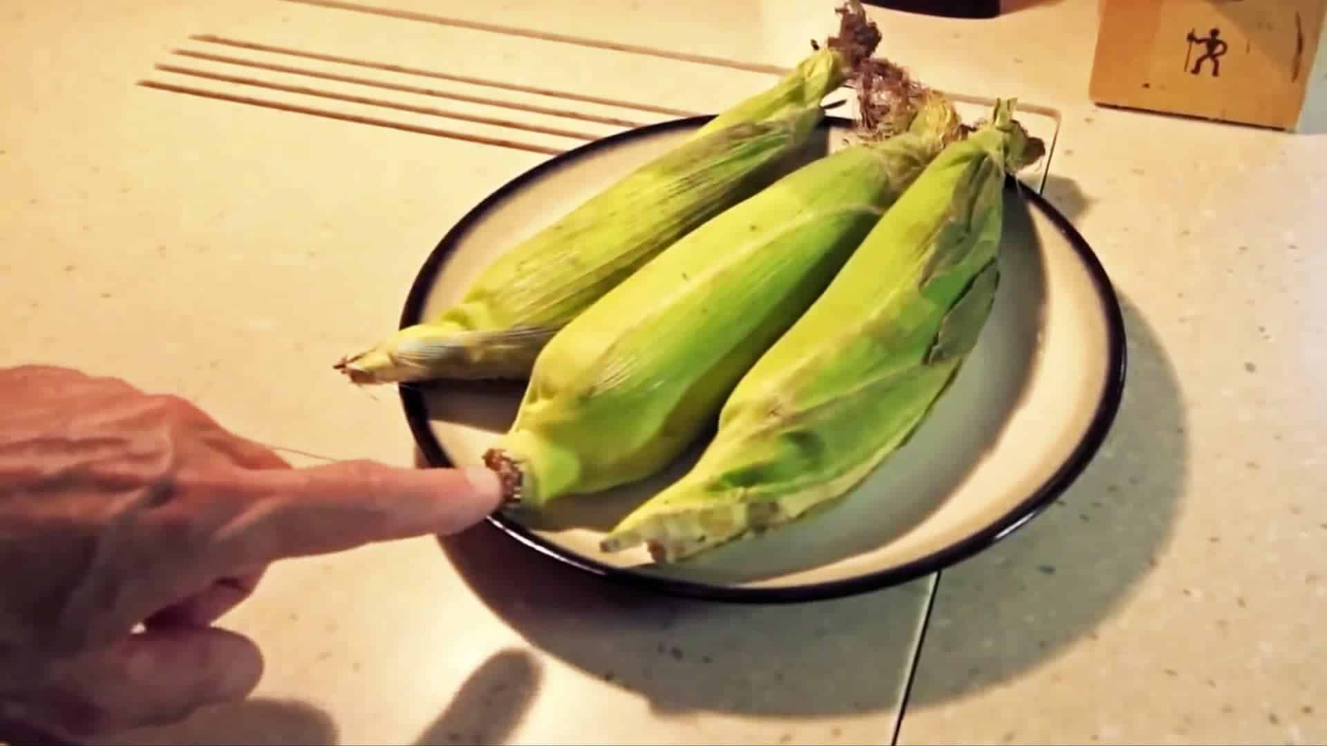 Microwave Corn on the Cob — No Shucking & Silk-Free!