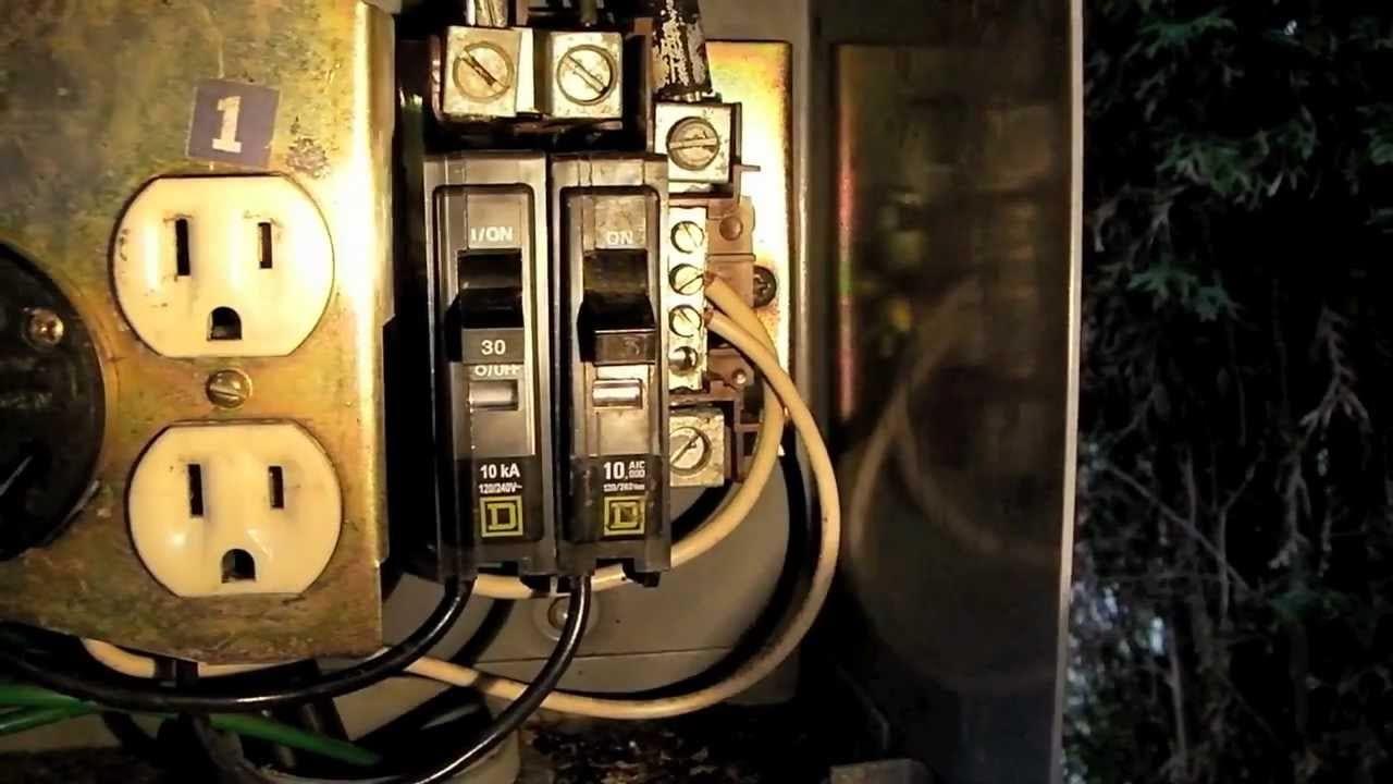 Replacing a Circuit Breaker on an RV Power Pedestal