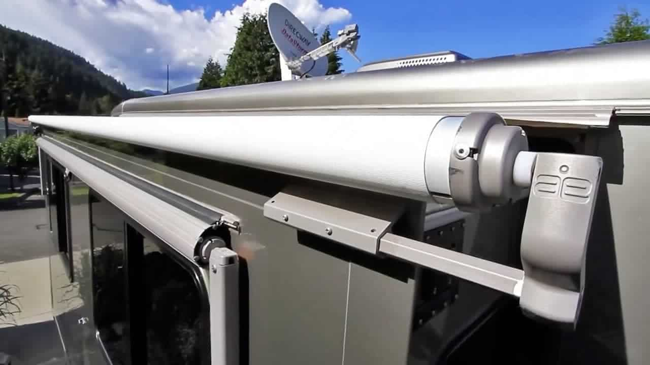 RV slide topper replacement