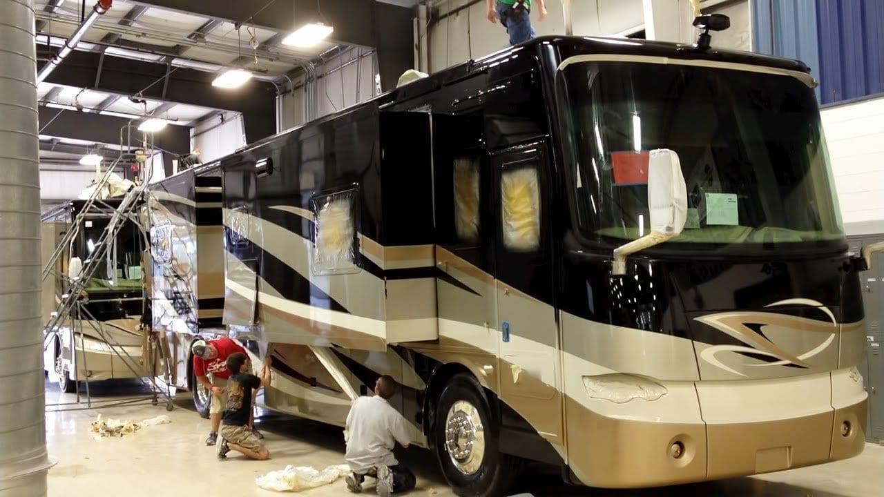 Tiffin Motorhome Factory Tour — Red Bay, AL