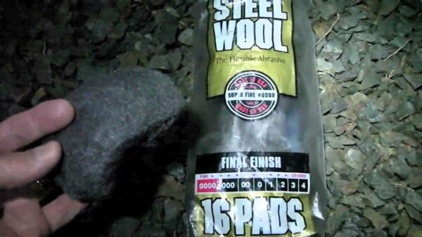 How To Start a Fire with Steel Wool