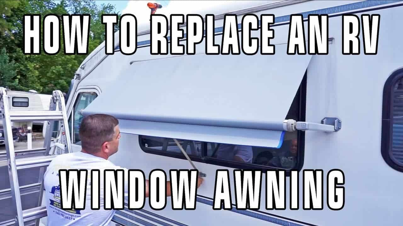 How to Replace Dometic/A&E RV Window Awning Fabric