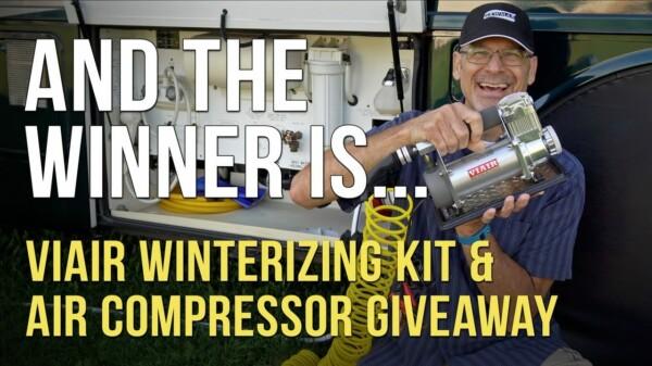 And Our Viair Giveaway Winner Is… !!