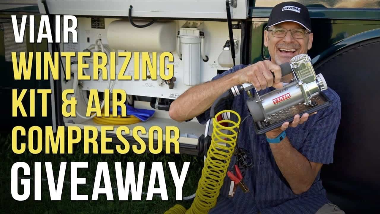 VIAIR GIVEAWAY! 400P-RV Air Compressor & Winterizing Kit