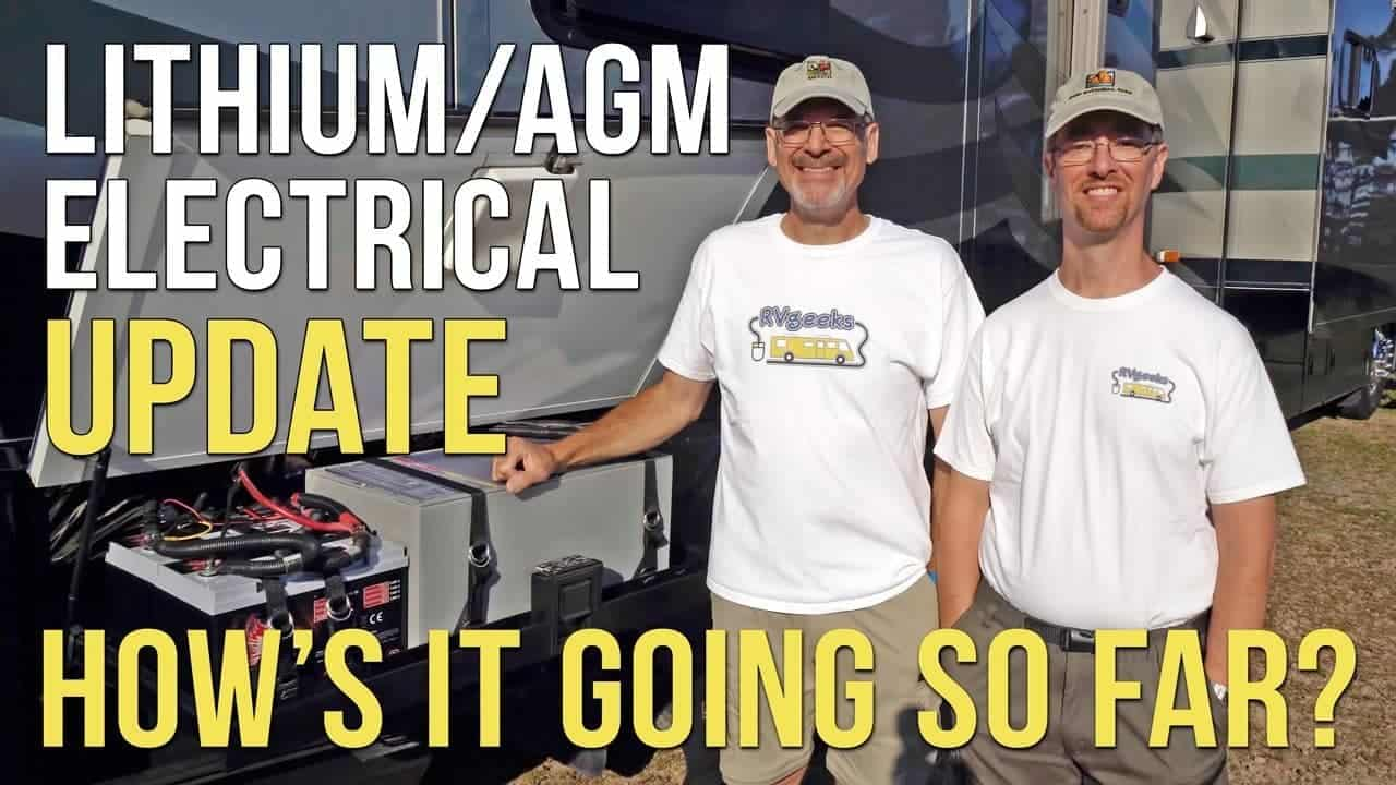 SYSTEM UPDATE! RV Lithium/AGM Battery & Electrical System Upgrade