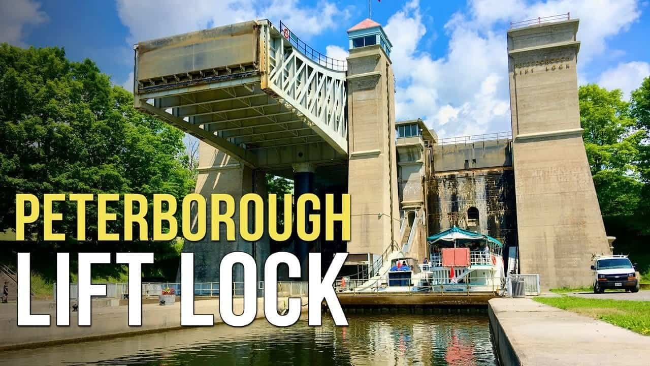 The Amazing Peterborough Lift Lock!
