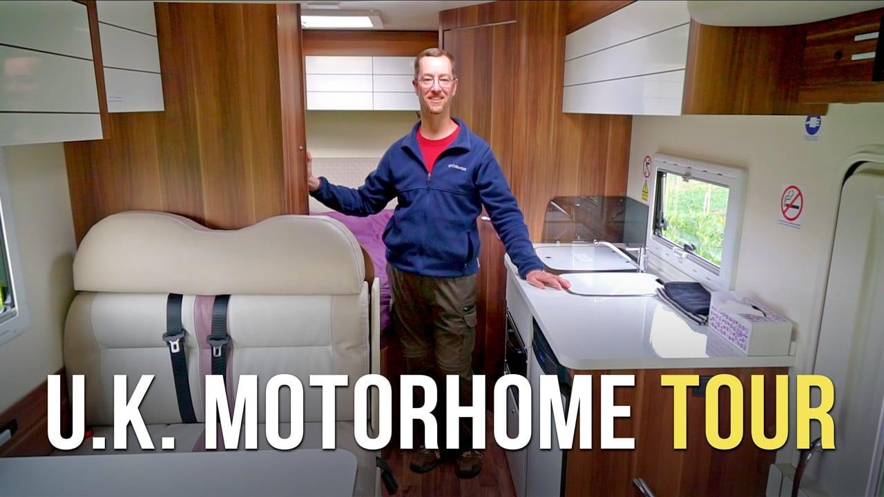 U.K. Motorhome Tour – RVing in England – Part 1