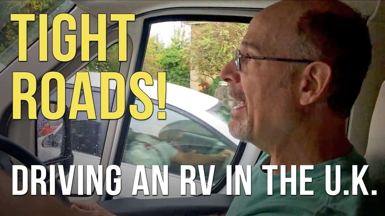 Driving an RV on NARROW U.K. Roads! – RVing in England – Part 3