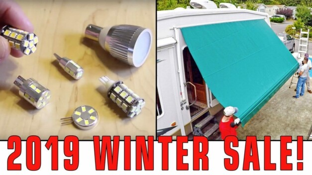Special RVgeeks Viewer Discounts! M4 LEDs and Tough Top Awnings