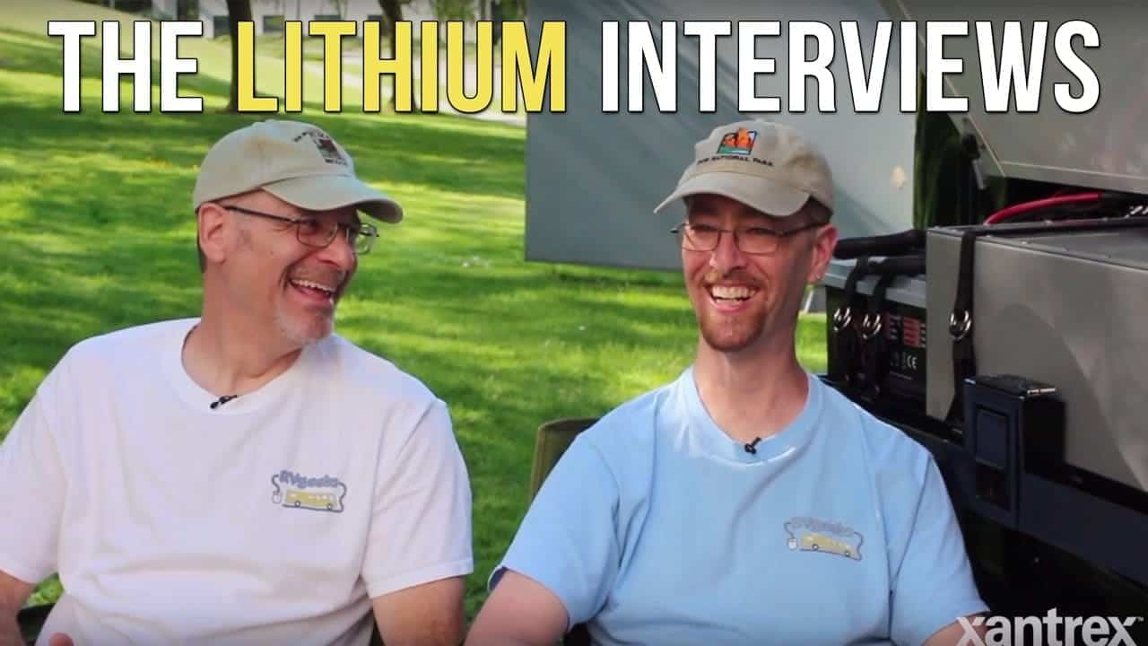 Xantrex Interviews The RVgeeks About Lithium Batteries