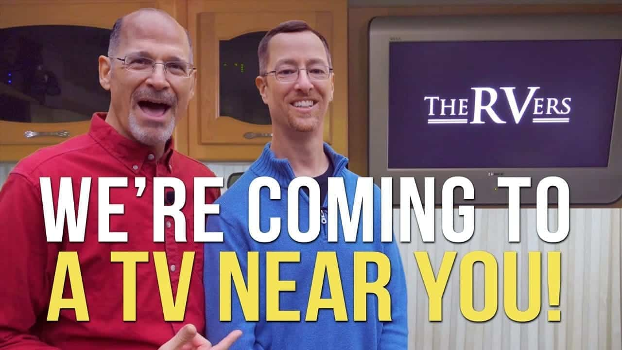 Updates On Our TV Show — The RVers! We're Coming To PBS this Fall!