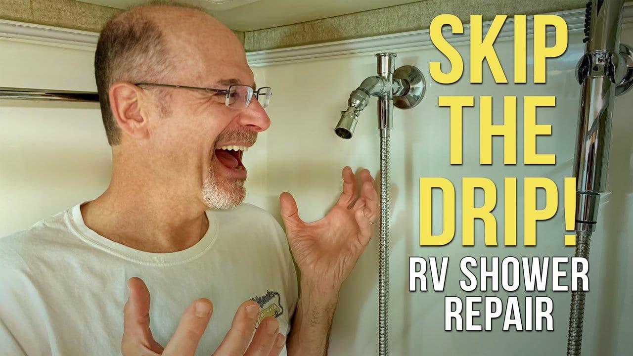Fix That Dripping Shower + BONUS TIP: Caulk Like A Pro!
