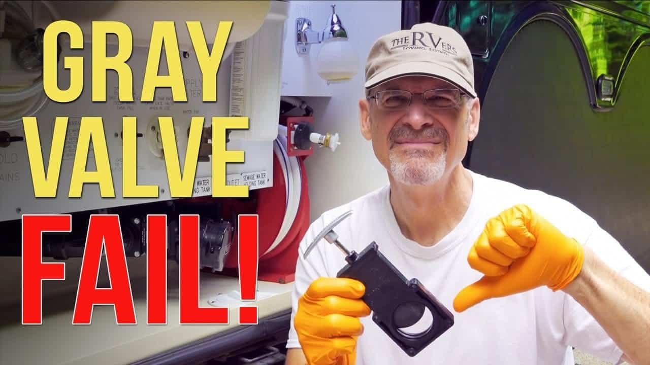 RV Gray Valve Repair — REAL-TIME DIY Holding Tank Valve Replacement