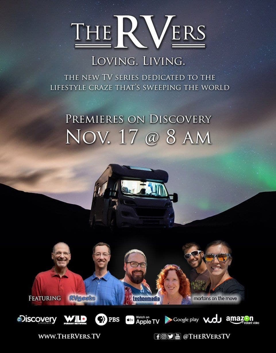 The RVers Premiere Watch Party & RV Entrepreneur Meetup