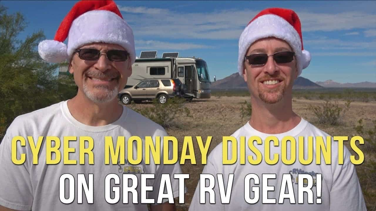 Cyber Monday SALE on Great RV Gear!