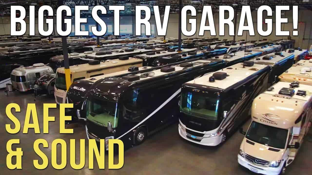 The Safest, Most Secure RV Storage We've Ever Seen! NIRVC, Las Vegas!