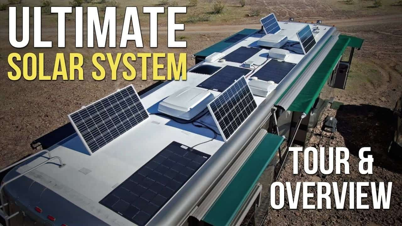 ☀️????⚡️ The Ultimate RV Solar System! 8 Panels, 1,300 Watts, Off-Grid Ready!