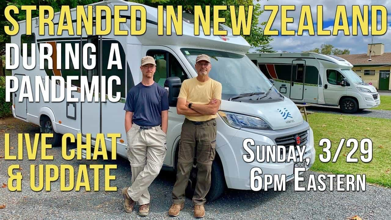 Stranded in New Zealand During a Pandemic! ???? Live Chat & Update
