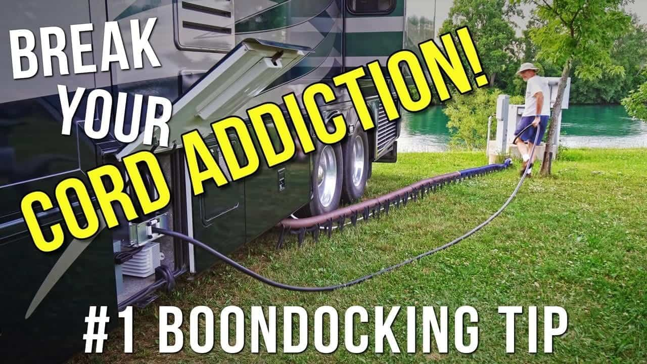 RV Boondocking Making You Nervous? Try This!