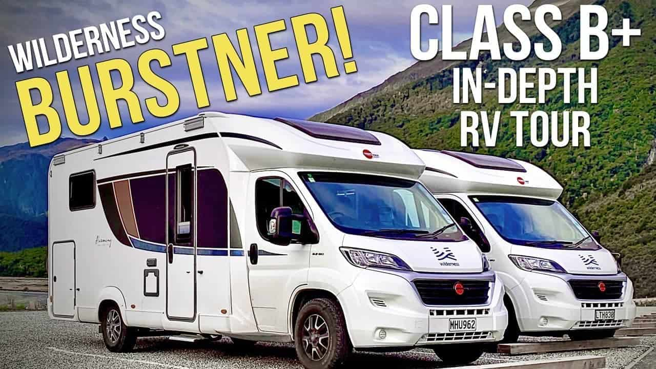 Bürstner Class B+ Motorhome Tour ???? — Our New Zealand Wilderness RV Rental